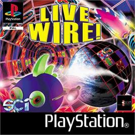 Box cover for Live Wire! on the Sony Playstation.
