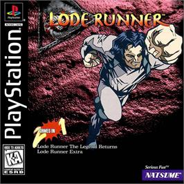 Box cover for Lode Runner: The Legend Returns on the Sony Playstation.