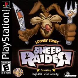 Box cover for Looney Tunes: Sheep Raider on the Sony Playstation.