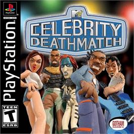 Box cover for MTV Celebrity Deathmatch on the Sony Playstation.