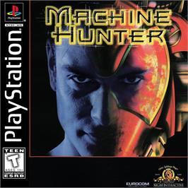 Box cover for Machine Hunter on the Sony Playstation.