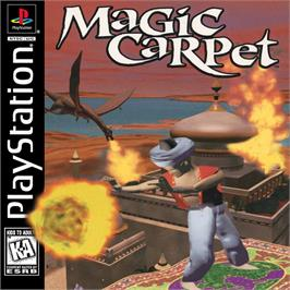 Box cover for Magic Carpet on the Sony Playstation.