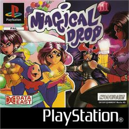 Box cover for Magical Drop III on the Sony Playstation.