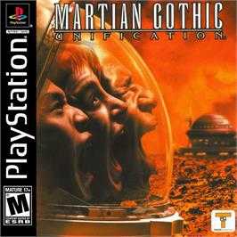 Box cover for Martian Gothic: Unification on the Sony Playstation.