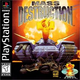 Box cover for Mass Destruction on the Sony Playstation.