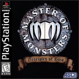 Box cover for Master of Monsters: Disciples of Gaia on the Sony Playstation.