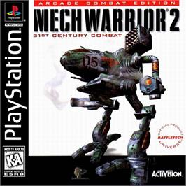 Box cover for MechWarrior 2: 31st Century Combat on the Sony Playstation.