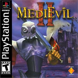Box cover for MediEvil II on the Sony Playstation.