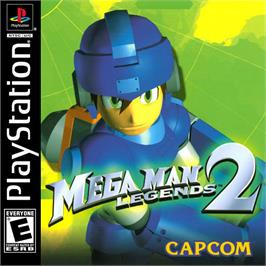 Box cover for Mega Man Legends 2 on the Sony Playstation.