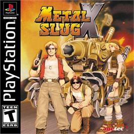 Box cover for Metal Slug X: Super Vehicle - 001 on the Sony Playstation.