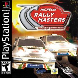 Box cover for Michelin Rally Masters: Race of Champions on the Sony Playstation.