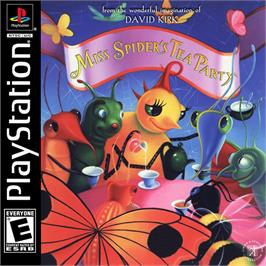 Box cover for Miss Spider's Tea Party on the Sony Playstation.
