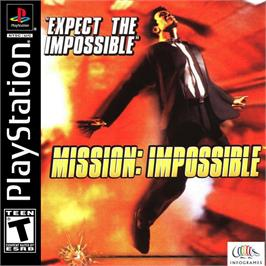 Box cover for Mission: Impossible on the Sony Playstation.