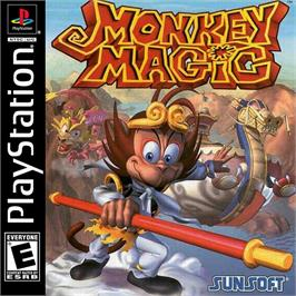Box cover for Monkey Magic on the Sony Playstation.