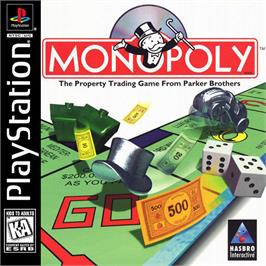 Box cover for Monopoly on the Sony Playstation.