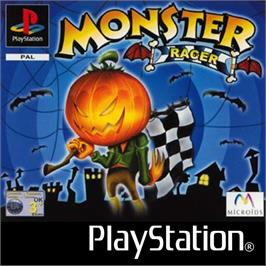 Box cover for Monster Racer on the Sony Playstation.