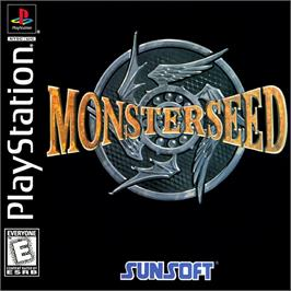 Box cover for Monster Seed on the Sony Playstation.