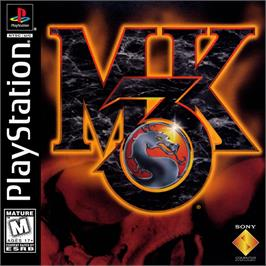 Box cover for Mortal Kombat 3 on the Sony Playstation.