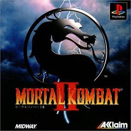 Box cover for Mortal Kombat II on the Sony Playstation.