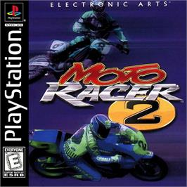 Box cover for Moto Racer 2 on the Sony Playstation.