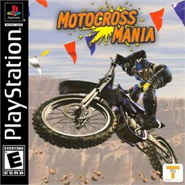Box cover for Motocross Mania on the Sony Playstation.