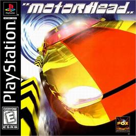 Box cover for Motorhead on the Sony Playstation.