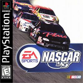 Box cover for NASCAR 99 on the Sony Playstation.
