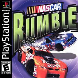 Box cover for NASCAR Rumble on the Sony Playstation.