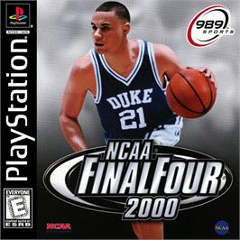 Box cover for NCAA Final Four 2000 on the Sony Playstation.