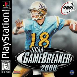 Box cover for NCAA GameBreaker 2000 on the Sony Playstation.