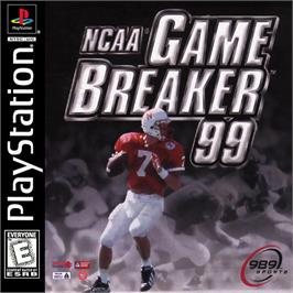 Box cover for NCAA GameBreaker 99 on the Sony Playstation.