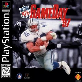 Box cover for NFL GameDay '97 on the Sony Playstation.