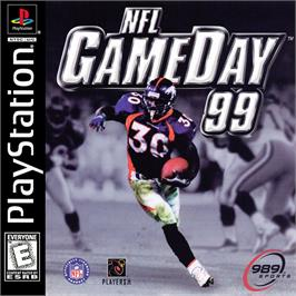 Box cover for NFL GameDay '99 on the Sony Playstation.