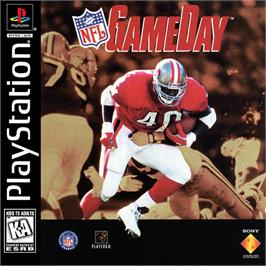 Box cover for NFL GameDay on the Sony Playstation.