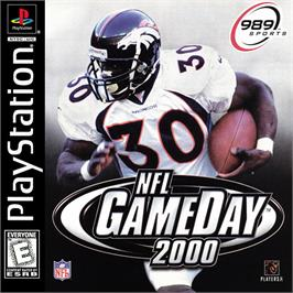Box cover for NFL GameDay 2000 on the Sony Playstation.