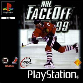 Box cover for NHL FaceOff '99 on the Sony Playstation.