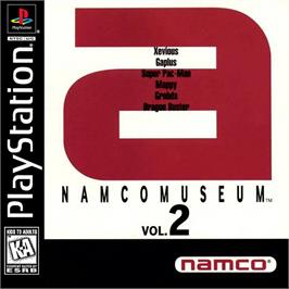 Box cover for Namco Museum Vol. 2 on the Sony Playstation.