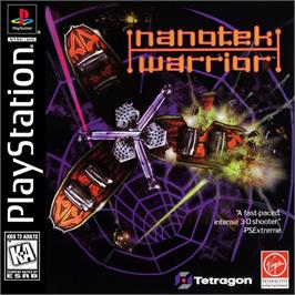 Box cover for NanoTek Warrior on the Sony Playstation.