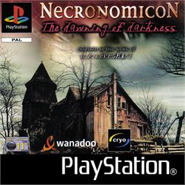 Box cover for Necronomicon: The Dawning of Darkness on the Sony Playstation.