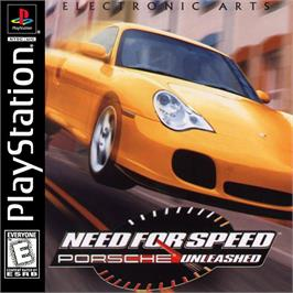Box cover for Need for Speed: Porsche Unleashed on the Sony Playstation.