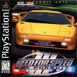 Box cover for Need for Speed III: Hot Pursuit on the Sony Playstation.