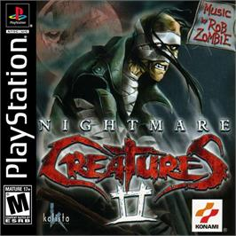 Box cover for Nightmare Creatures II on the Sony Playstation.
