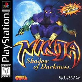 Box cover for Ninja: Shadow of Darkness on the Sony Playstation.