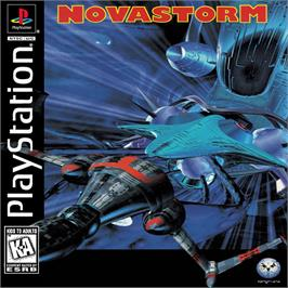 Box cover for Novastorm on the Sony Playstation.