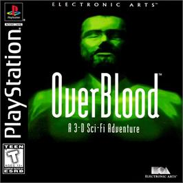 Box cover for OverBlood on the Sony Playstation.