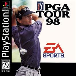 Box cover for PGA Tour 98 on the Sony Playstation.