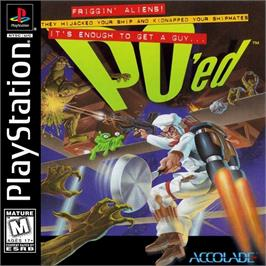 Box cover for PO'ed on the Sony Playstation.