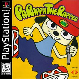 Box cover for PaRappa the Rapper on the Sony Playstation.