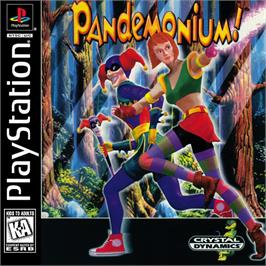 Box cover for Pandemonium! on the Sony Playstation.