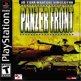 Box cover for Panzer Front on the Sony Playstation.